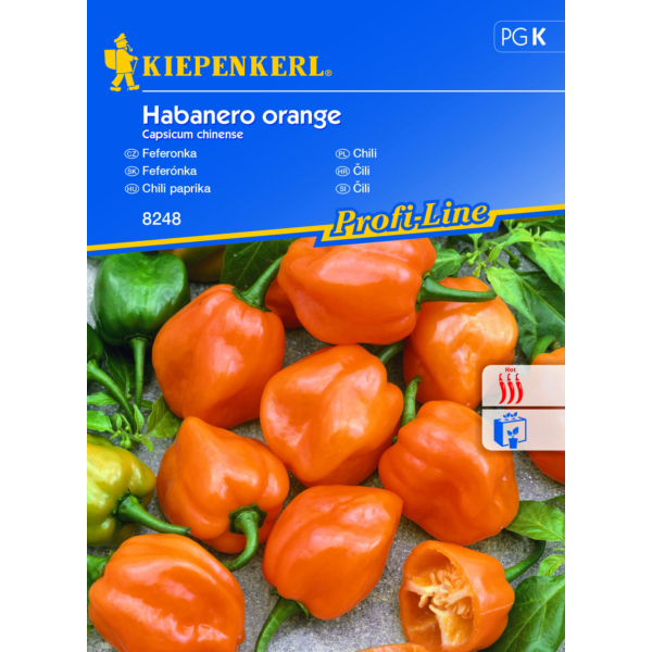 kiepenkerl vetőmag chili paprika habanero orange