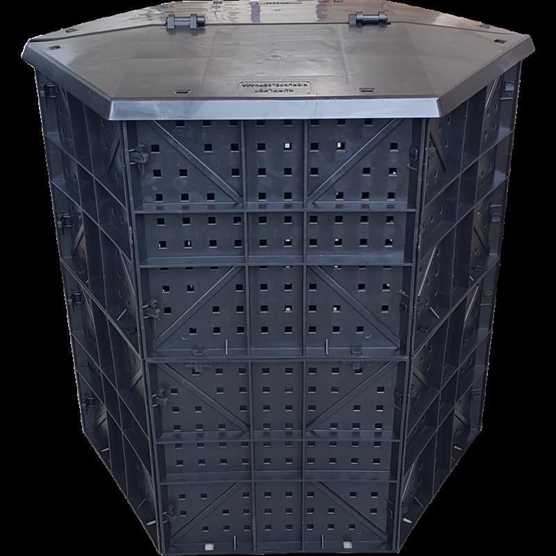 Karsai komposztáló láda - 600L
