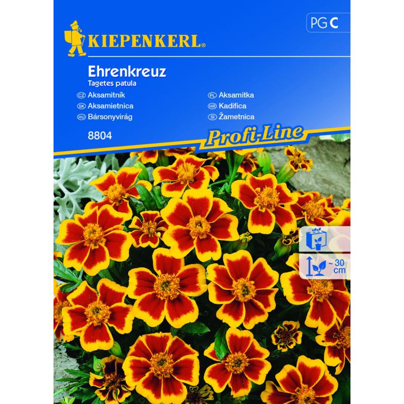 Kiepenkerl vetőmag, bársonyvirág, Ehrenkreuz