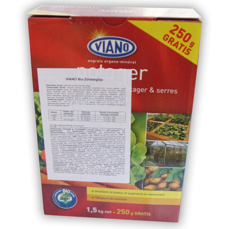 Viano zöldségtáp 6-5-10 +MgO