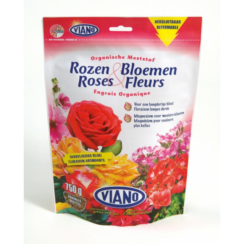 Viano szervestáp rózsáknak, 0,75kg