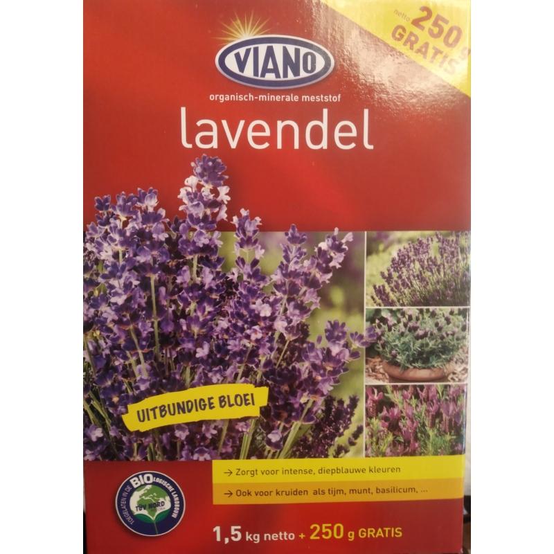 viano levendula növénytáp